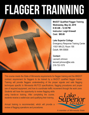 Flagger Training - Minnesota State Colleges and Universities